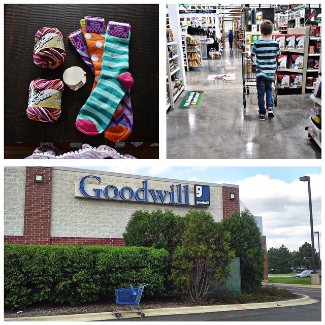 A DAY IN THE LIFE   5:00 ish - A run to Michaels, Menards, and Goodwill    #aedayinthelife #photoanhour #365 #adayinthelife #makingmemories #photoproject #project365