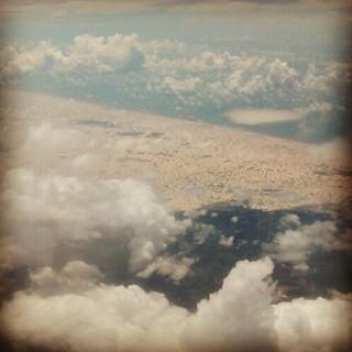 Lençóis Maranhenses, as seen from the air. #lencoismaranhenses #maranhão #brazil
