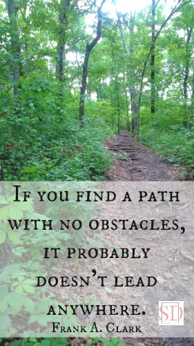 Stacey's Daze:path with no obstacles
