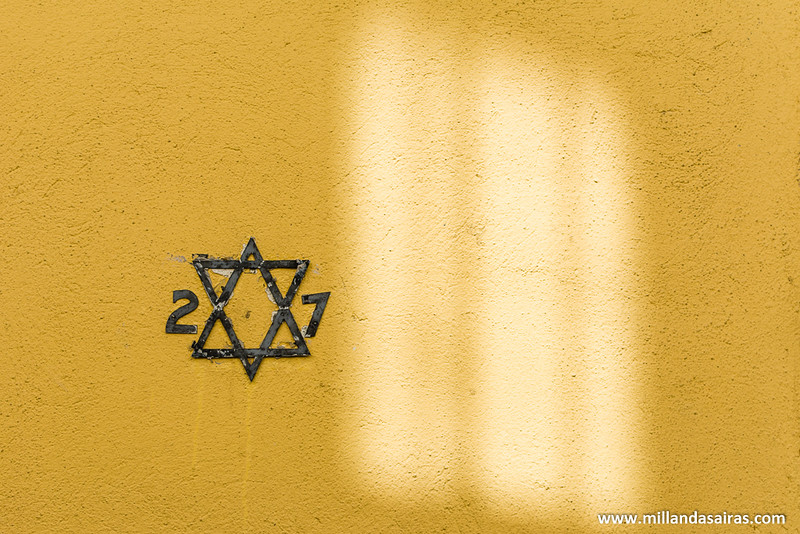 Número 27 del barrio judío de Ribadavia