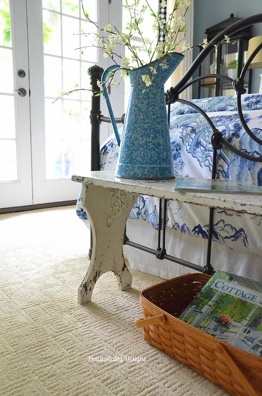 Vintage Bench/Guest Room-Housepitality Designs