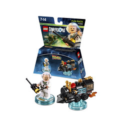 LEGO Dimensions 71230 - Back to the Future Doc Brown Fun Pack