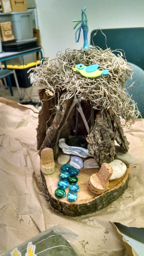 Creating a Fairy Garden Workshop, Makerspace 125, May 16, 2015