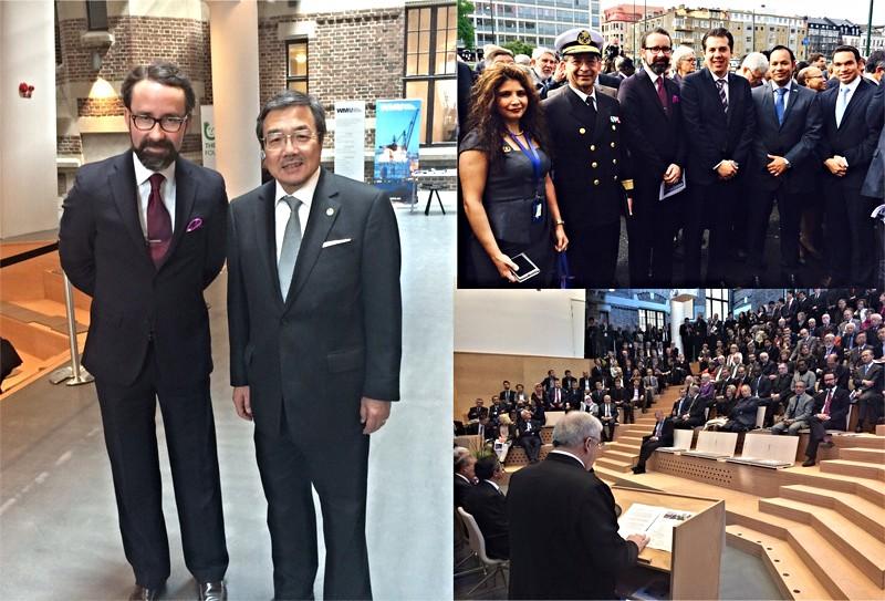 Participa Embajador de México en simposio marítimo internacional, RU