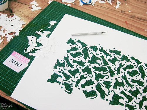 Screen printing: I killed those kitties | by ollanani