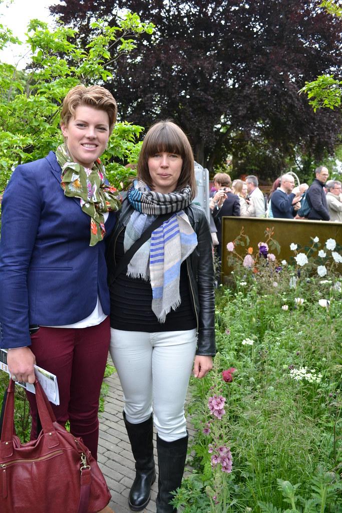 Catherine MacDonald And Amanda Miller From Landform Consul