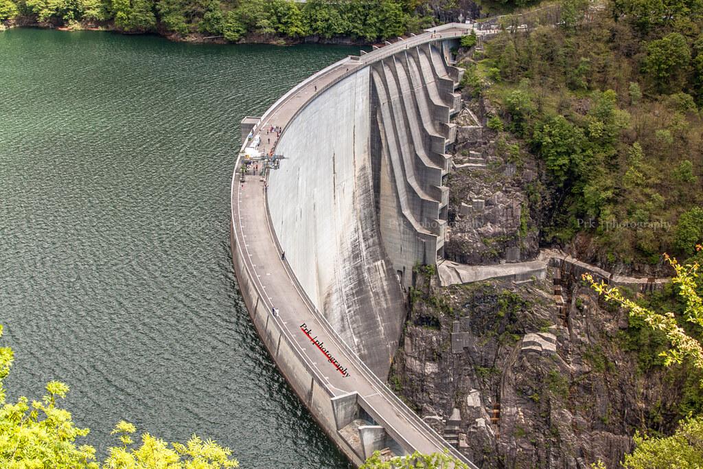 Dam N Contra Dam Verzasca Dam Locarno Dam An