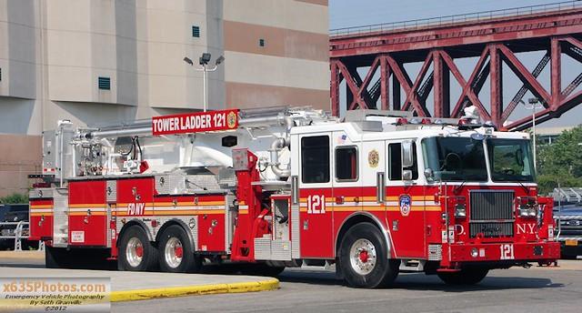 Fdny Tower Ladder 121 Flickr Photo Sharing