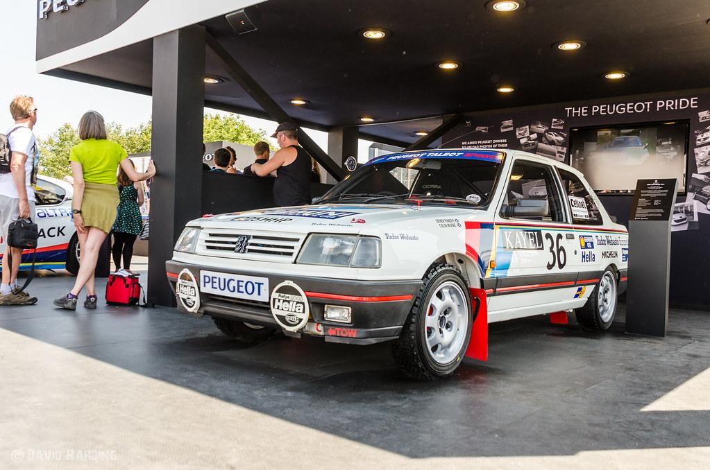 Peugeot 309 Gti Rally Car David Harding Flickr