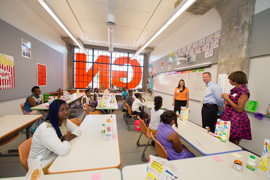 baltimore design school ribbon cutting | baltimore design sc… | flickr