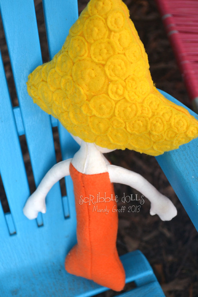 Deema, a Bubble Guppy inspired doll | After making three Oon