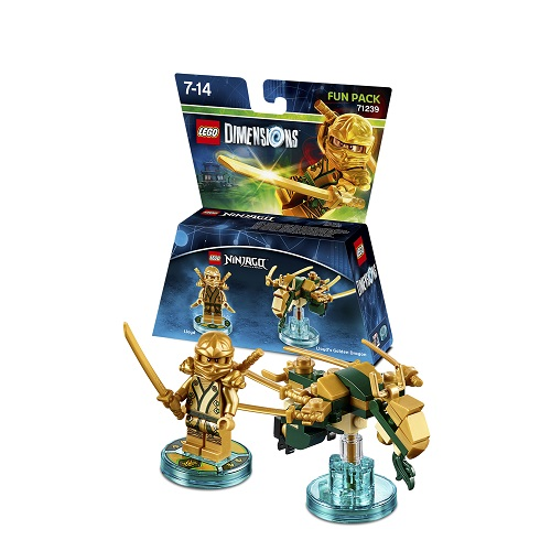 LEGO Dimensions Fun Pack: Gold Ninja (71239)