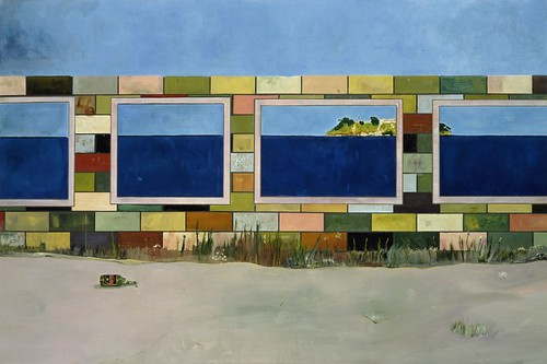Peter Doig, House of Pictures (Carrera), 2004, Oil on canvas