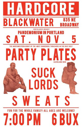 11/5/16 PartyPlates/SuckLords/Sweats