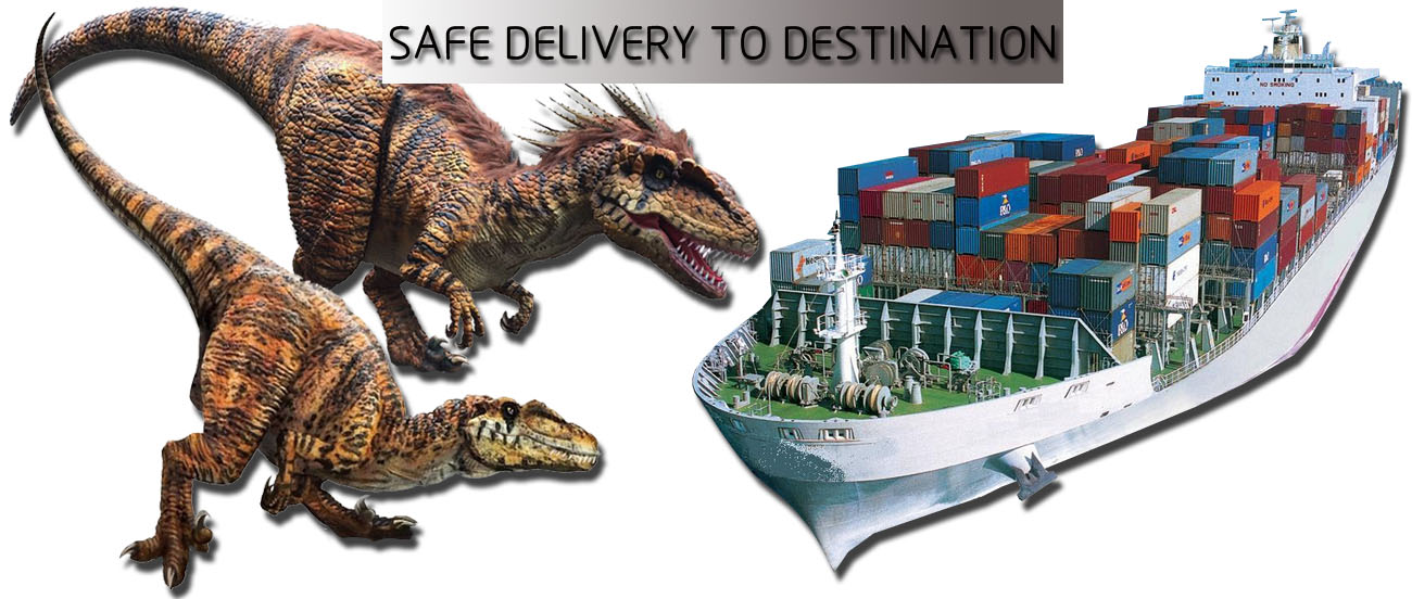 Dinosaur Costume Safe Delivery