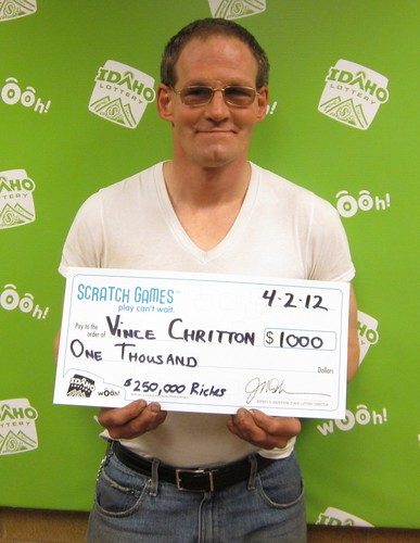 Vince Chritton - $1,000 $250,000 Riches | by Idaho Lottery