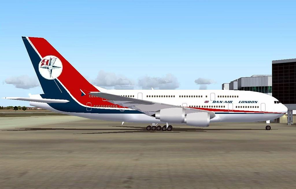 Dan Air Airbus A380 | ...