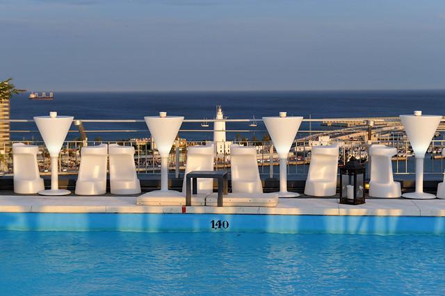 hotel mirador malaga: