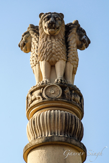 Ashoka Pillar   Flickr - Photo Sharing!