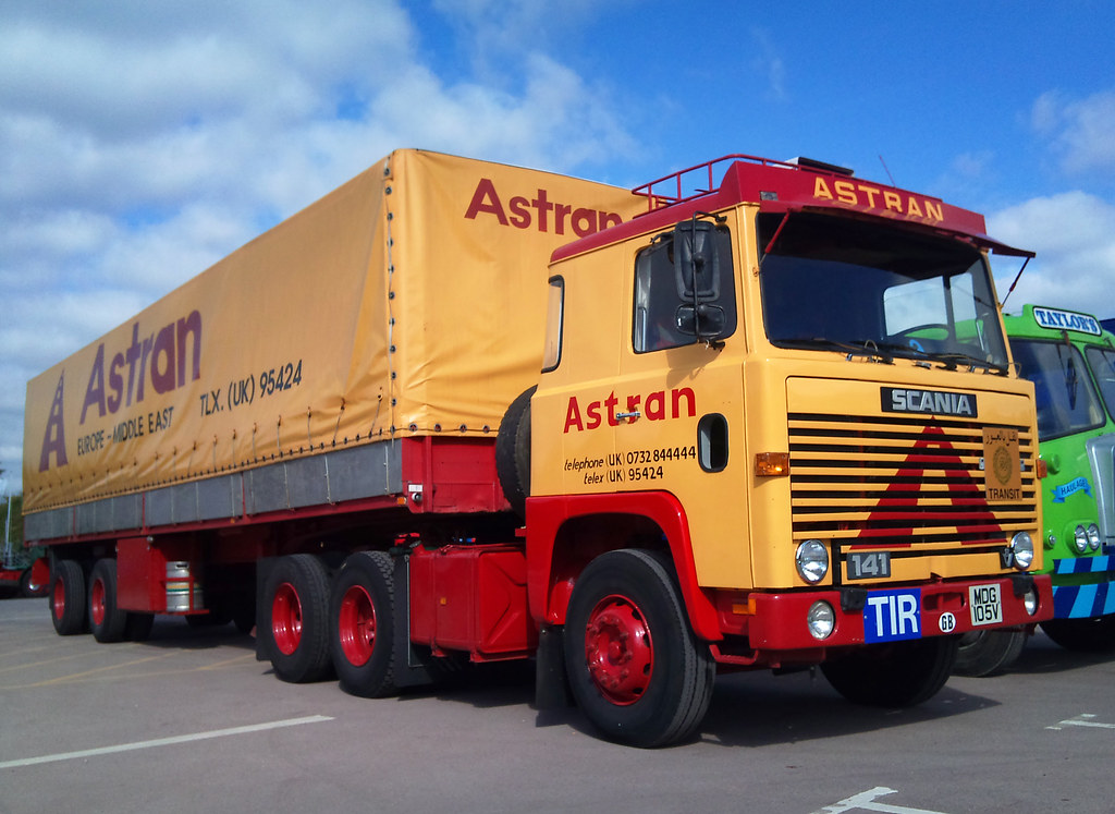 Astran Scania 141 Another One Of My All Time Favorites