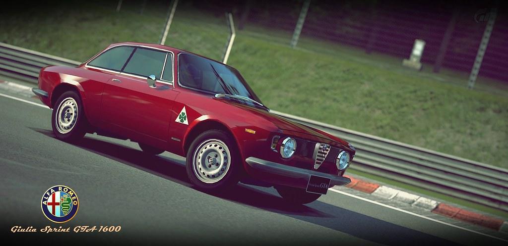 Alfa Romeo Giulia Sprint Gta 1600 65 N 252 Rburgring