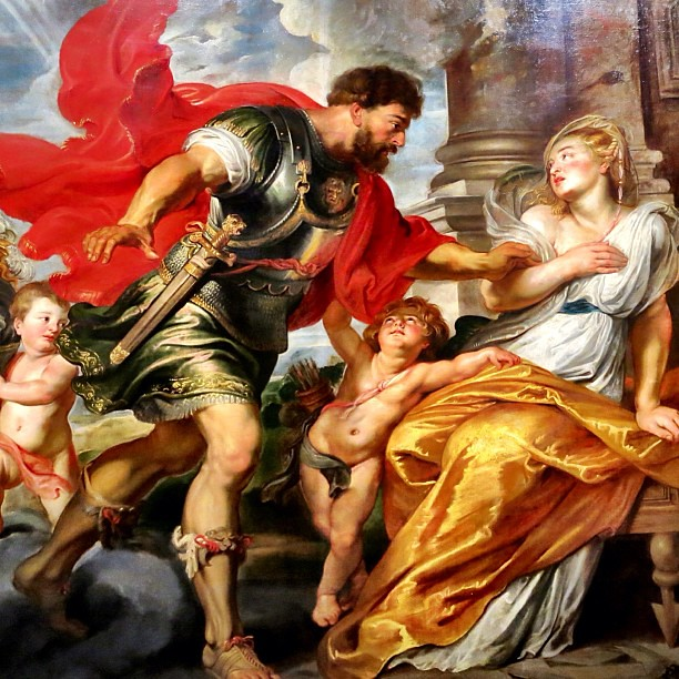 Quot Mars And Rhea Silvia Quot By Peter Paul Rubens C 1616 1617
