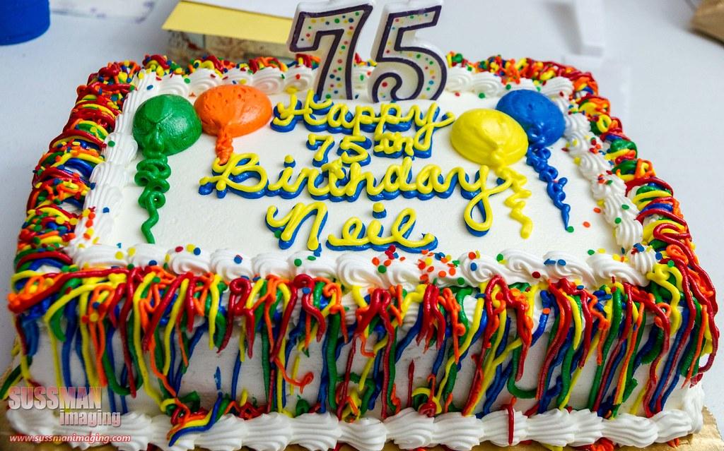 Happy 75th Birthday Cake For Men Best Cars 2018