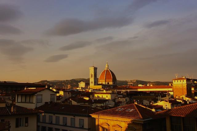 Florence twilight.