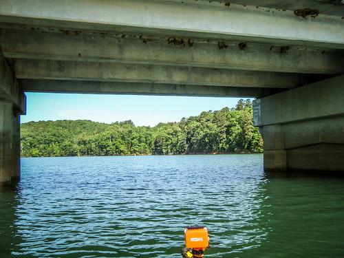 Lake Hartwell at Lawrence Bridge-79