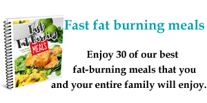 Fast Fat Burning Meals Cookbook
