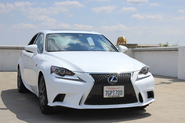 2015 Lexus IS 350 F SPORT is in the CF Garage