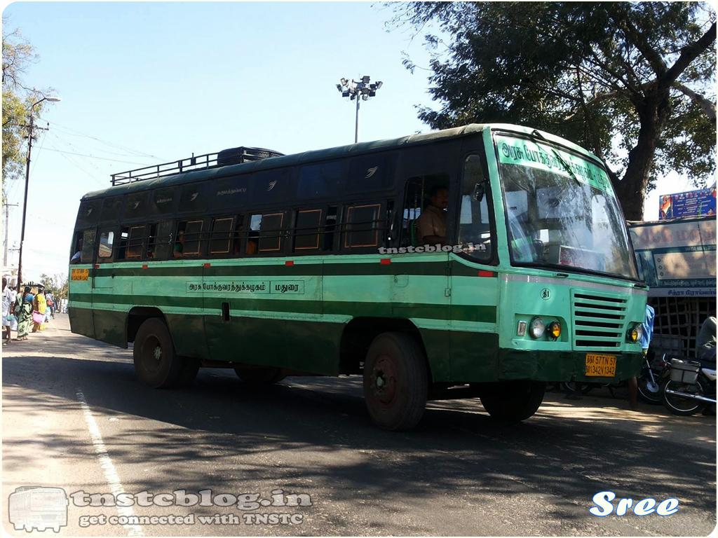 TN-57N-1342 of Dindigul 1 Depot Dindigul  -Panrimalai via Sempatty, Dharumathampatty, Chattirapatti, Adalur.