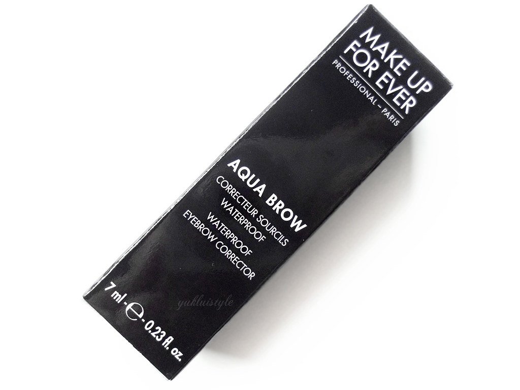 Make Up For Ever Aqua Brow review and swatch