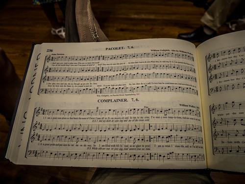 Nan Herring Shape Note Singing-3