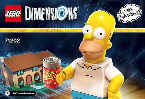 LEGO Dimensions The Simpsons Level Pack (71202)