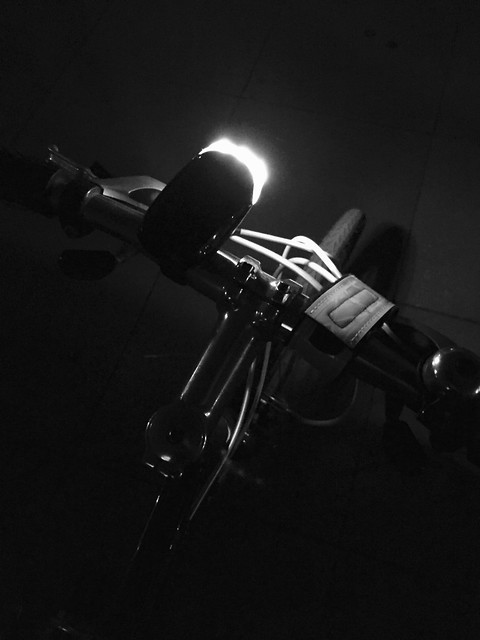 night biking