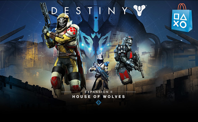 PS Store - Destiny House of Wolves