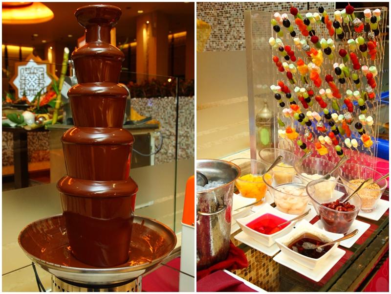 Chocolate Fondue Ice Kacang
