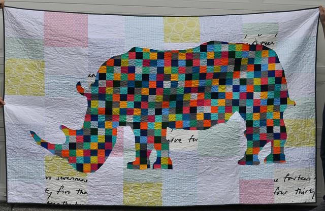 rhino quilt 2