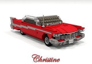 Plymouth Fury 1957 - Modified (Christine - Stephen King)