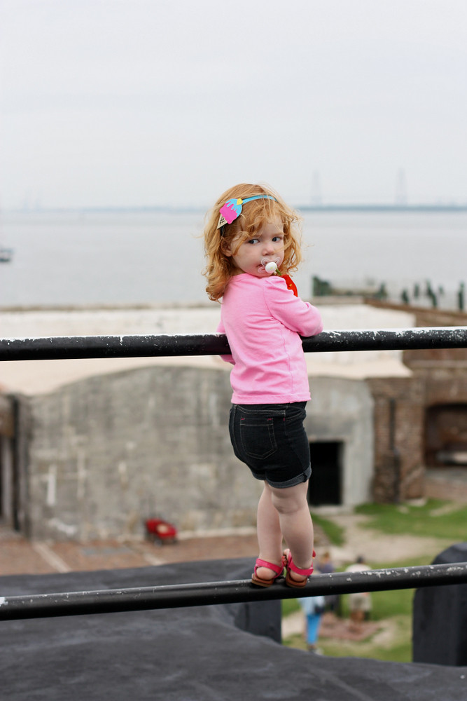 Fort sumter with kids
