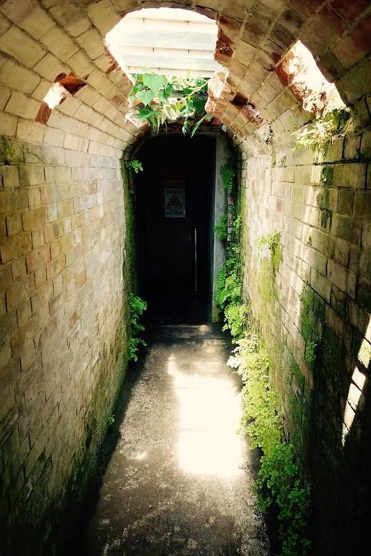 地下ボイラー室・貯炭庫