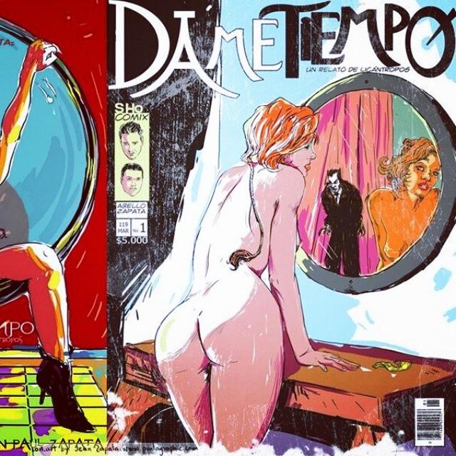 Erotic comic book artists portal