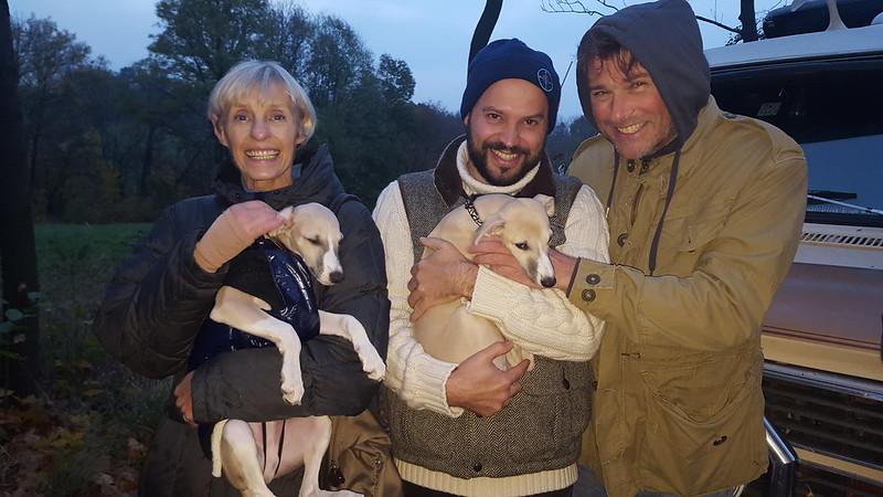 Die Wiener Animagi-G-linge Lord Byron mit Katja und Sookie mit Florian und Paul!