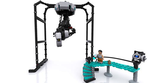 GLaDOS' Chamber | by Lego Junkie.