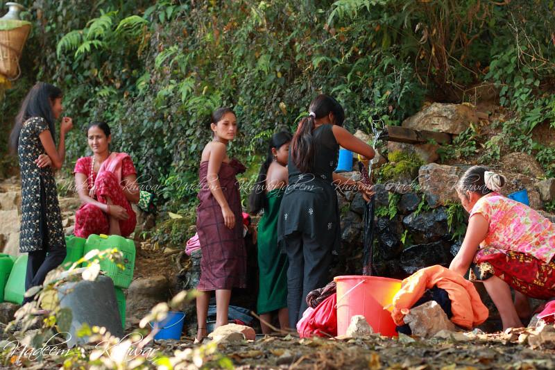 Village Bath, Nepal  Nadeem Khawar  Flickr-8223