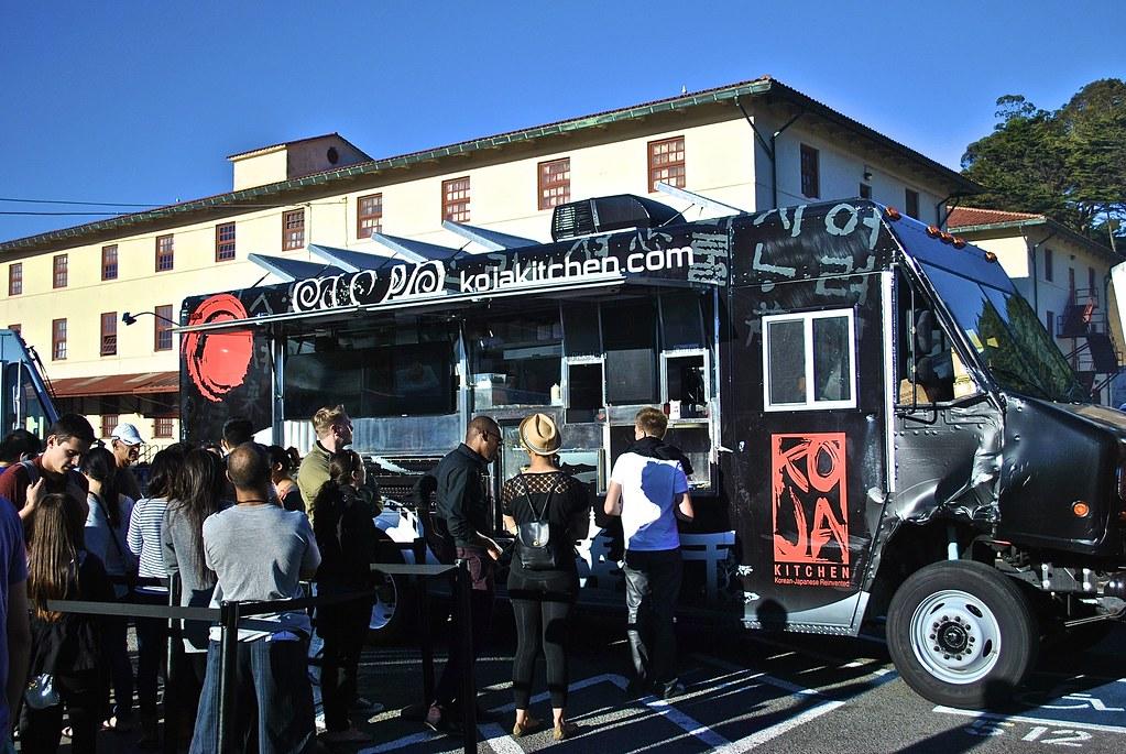 koja kitchen food truck at off the grid in san francisco