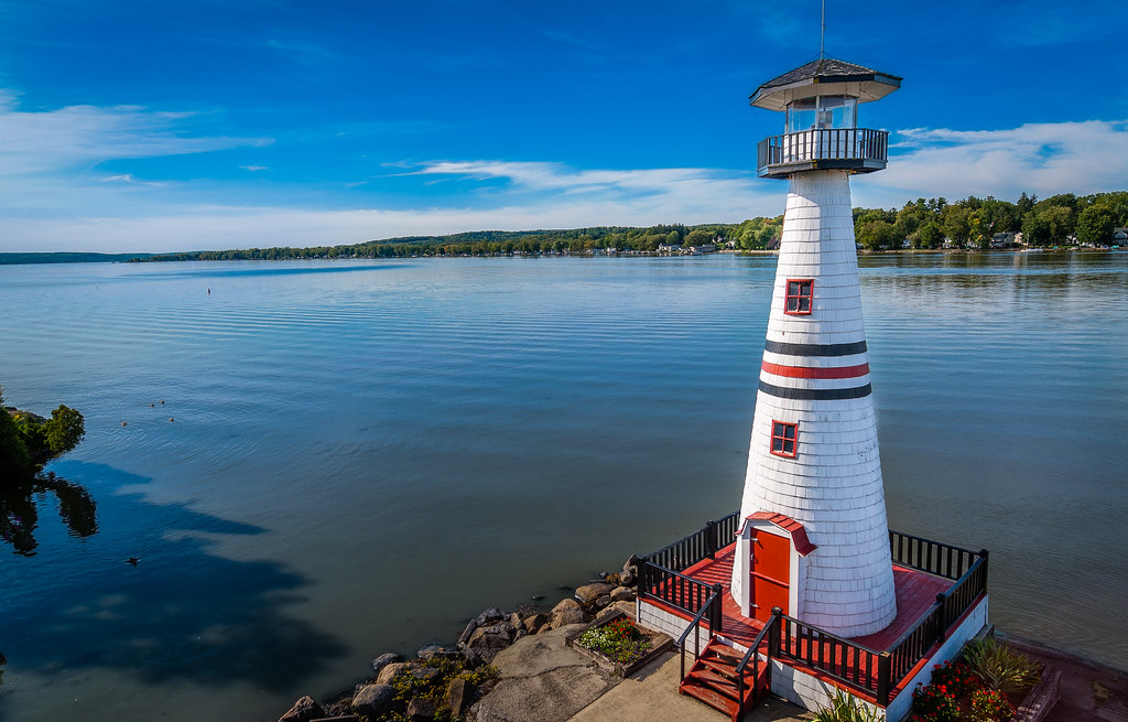 Chautauqua Lake Lighthouse   A local lighthouse shot from ...