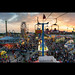 Canadian National Exhibition at Dusk (Panorama)