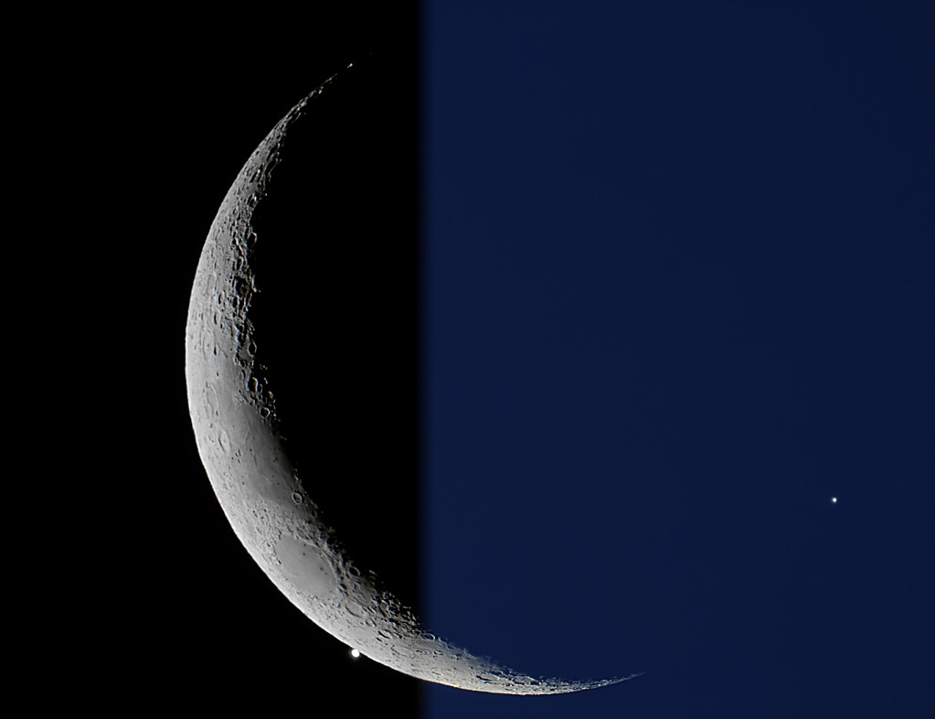 The Occultation of Venus | On September 8th, 2013 the Moon ...